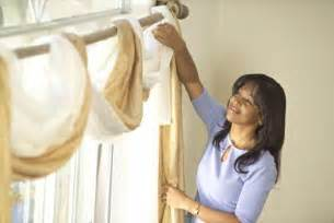 how to put a curtain scarf up instructions for installing window scarves home guides