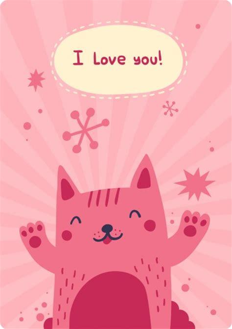 imagenes d te extraño gratis eu te amo cart 227 o com gato happyness baixar vetores gr 225 tis