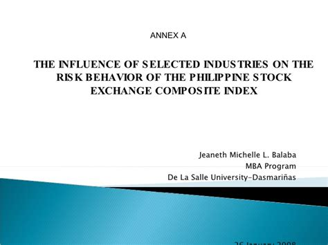 Of The Philippines Mba Program by Mba Thesis On The Philippine Stock Market