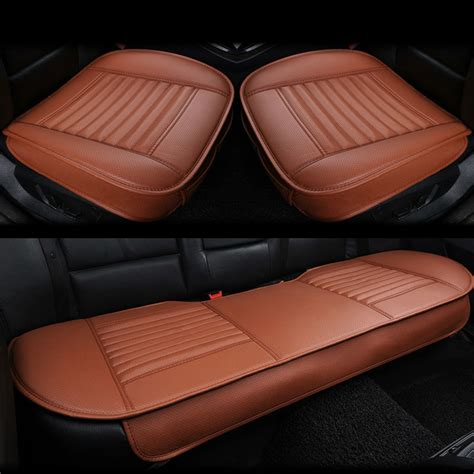 car seat cushions for drivers australia 3pcs set 3d leather car seat cushion car bamboo charcoal
