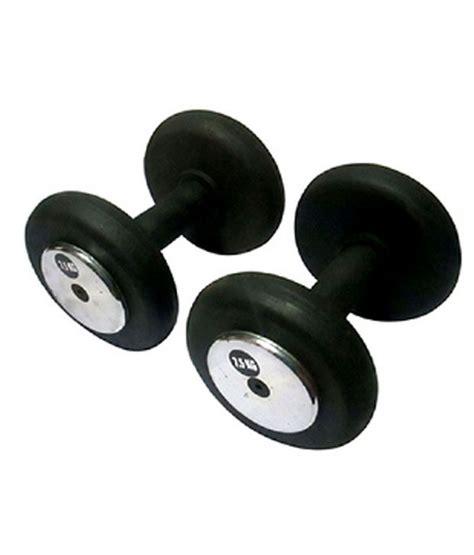 Plat Dumbel Rubber Set 7 5kg Dumbell Dumble Barbel Barbell saifi sports 7 5kg rubber dumbbell set buy at best