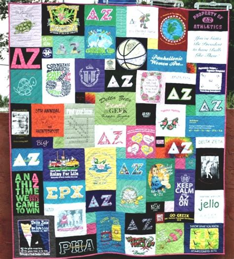Sorority Quilt by 24 Best Quilts Images On Shirt Quilts