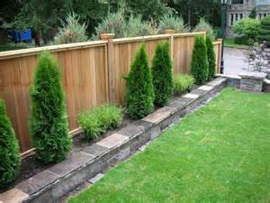 fabulous exle of the fence raised by mounting it on a