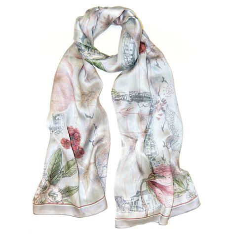 Pearl Scarf pearl silk scarf by armitage design notonthehighstreet