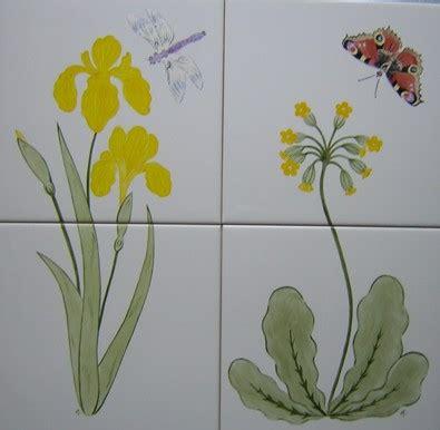 fliese pusteblume flower tiles wildflower tile panels ceramic tile murals