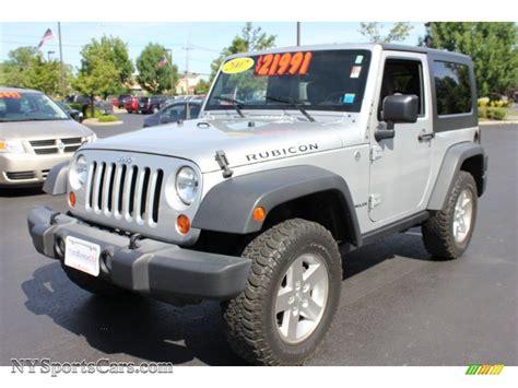 Transitowne Jeep 2007 Jeep Wrangler Rubicon 4x4 In Bright Silver Metallic