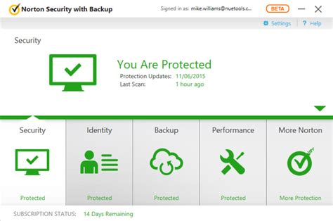 norton security 2016 resetter norton security 2016 beta is faster windows 10 ready