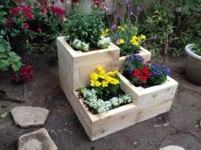 items similar to four tier garden planter box for herbs