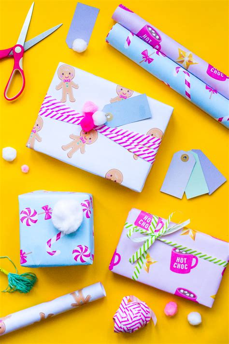 printable wrapping paper cute download the cutest free printable christmas gift wrap