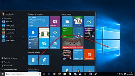 windows 8 d駑arrer sur le bureau windows 10 cr 233 er un raccourci d une application sur le