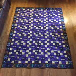 How To Make A Crown Royal Bag Quilt by Chains A Crown Royal Quilt Diane Designs