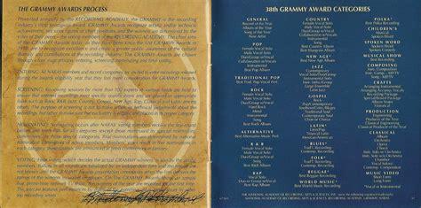 Cd 1996 Grammy Nominees Second 1996 Grammy Nominees Cd Various Artist Cds