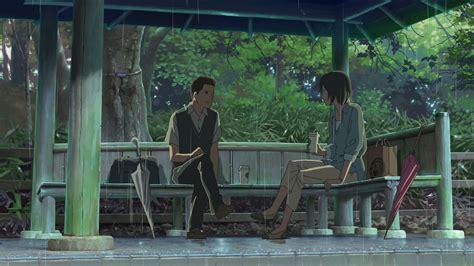 Garden Of Words Anime shinkai anime guide