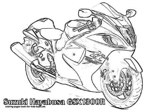 suzuki motorcycle coloring pages free coloring pages of suzuki motorbike