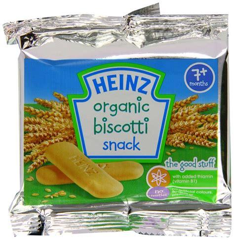 Heinz Biscotti Snack heinz in climbdown healthy baby biscotti sugar