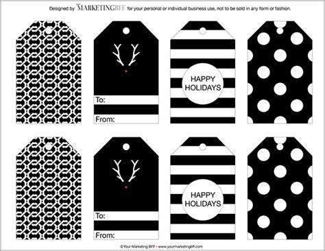 design printable gift tags 4 modern chic gift tags free printables