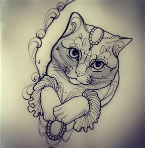 tattoo desenhos e muito mais gatos tattoo