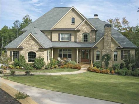 Tudor Style House Plans by