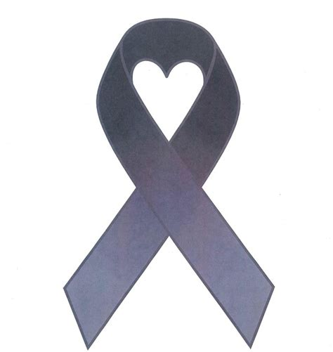 brain cancer ribbon color ribbon by gannon brain cancer survivor