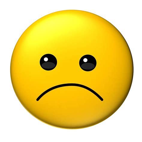 emoji sedih kostenlose illustration emoticon traurig gelb niedlich