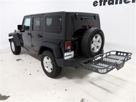 Jeep Wrangler Cargo Rack Jeep Wrangler Unlimited 22x59 Rola Cargo Carrier For 2