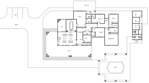 housing blueprints floor plans ghana house plans daavi house plan