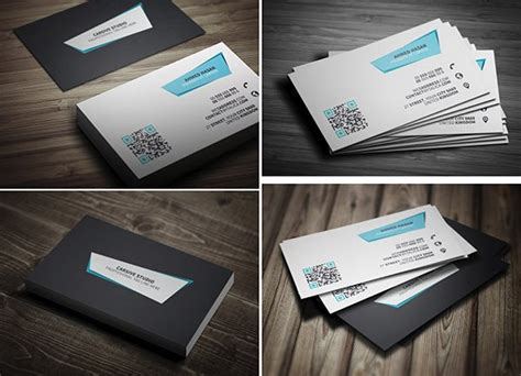 115 high quality free business card mock ups psd