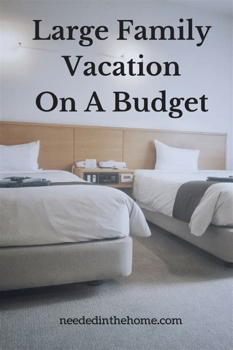 large family vacation   budget   indoor waterpark