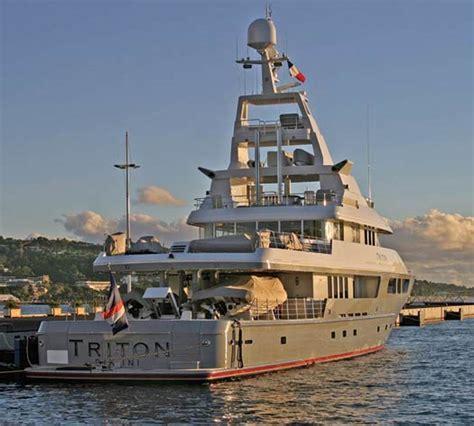 americas  largest yachts   triton power motoryacht