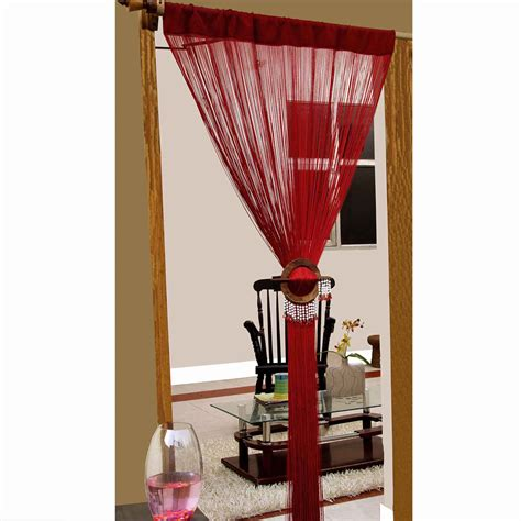 heavy curtain room divider heavy weight string curtains 90x200cm fly screen room door