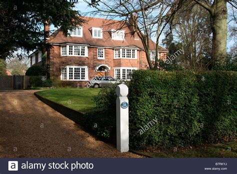 buy house bromley bromley bickley kent uk large edwardian detached family suburban stock photo royalty