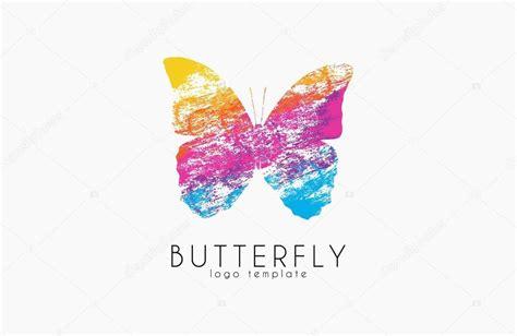 colorful butterfly logo colorful butterfly butterfly logo rainbow logo creative