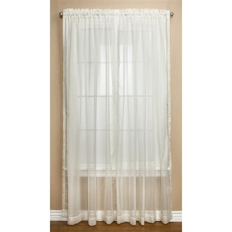 Dotted Swiss Curtains Commonwealth Home Fashions Dotted Swiss Sheer Curtains 108x84 Quot Pole Top 5596x Save 50