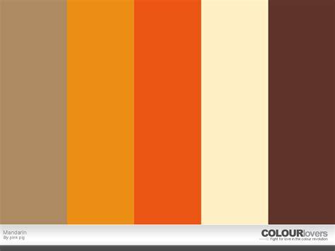 mandarin color color palette mandarin color palettes