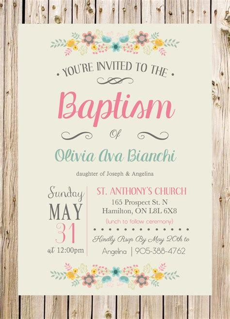 Invitation Letter Sle For Baptism 25 Best Ideas About Christening Invitations On Baptism Invitations Certificate