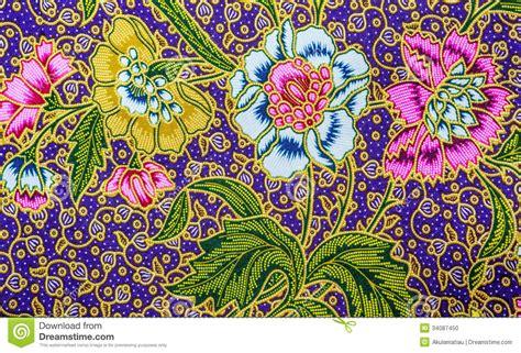 Batik Design Of Malaysia | malaysia batik pattern ix stock photo image 34087450