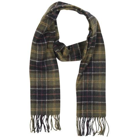 barbour tartan lambswool scarf classic tartan