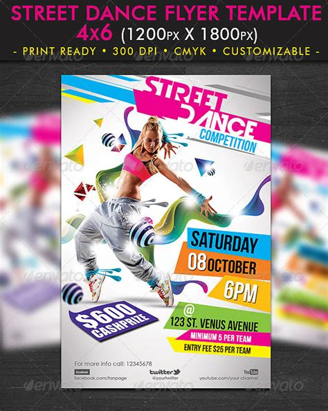 templates for dance flyers mind blowing party flyer design templates entheos