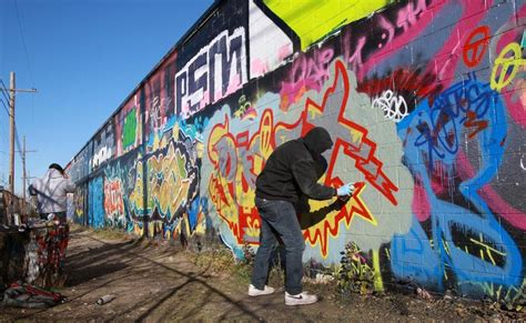 sanctioned graffiti walls offer legal space