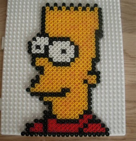 hama bead patterns the simpsons hama bead patterns