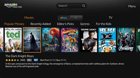 amazon instant video amazon instant video app hits google tv slashgear