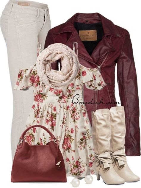casual  cozy fall outfits polyvore combination