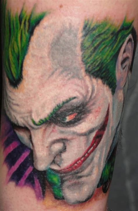 joker face tattoo designs joker tattoo ideas and joker tattoo designs page 16