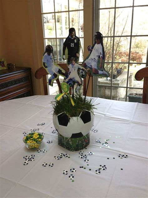 1000 Ideas About Soccer Centerpieces On Pinterest Soccer Banquet Centerpiece Ideas