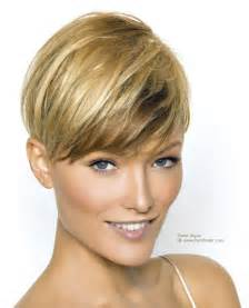 best haircut for a neck short haircut with the length above the ear and an ultra