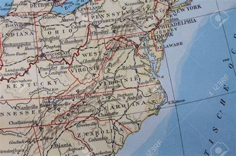 road map of virginia usa us eastern states highway map us highway map east coast