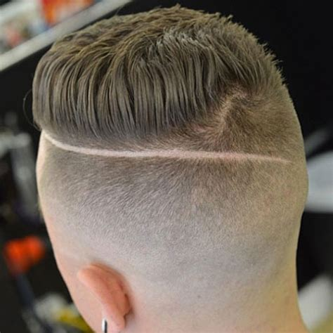 shaved back and sides haircut shaved sides hairstyles for men