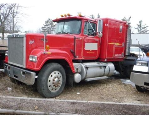 Mack Superliner Sleeper by 1989 Mack Superliner Rw713 For Sale 344 056