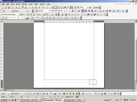 membuat halaman di word 2003 softwaremedancity cara memasukkan membuat nomor halaman