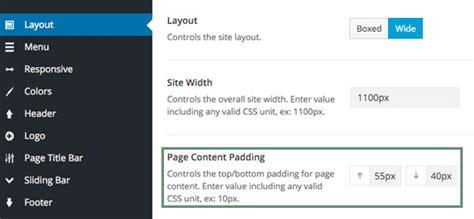 avada theme home page options page top bottom padding theme fusion